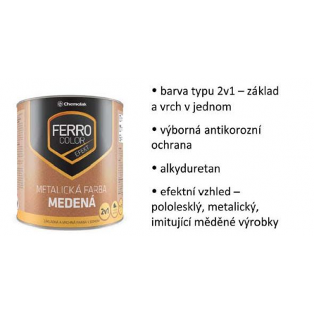 Ferro Color měděná
