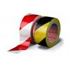 Vyznačovací podlahová páska s červenobílým pruhováním