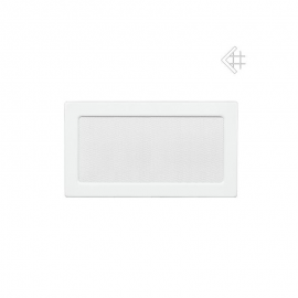 Krbová mřížka bílá 17x37cm Kratki
