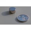 Neodymový magnet kotouč 12x6mm, síla 4,8kg