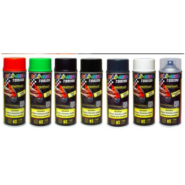 Motip SprayPlast transparentní pololesklý 400ml (Plasti Dip)