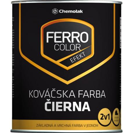 Ferro Color černá kovářská