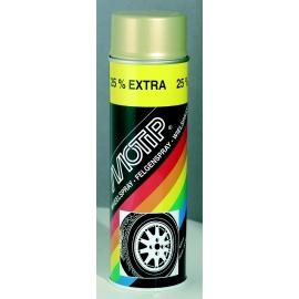 Motip sprej na disky kol 500ml stříbrná 04007