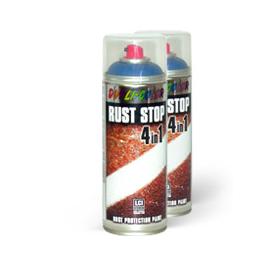 Dupli Color Rust Stop kovářská barva ve spreji 4v1 na rezavý kov