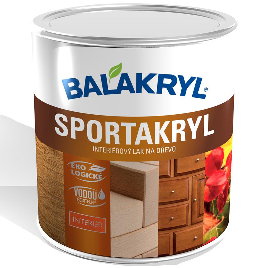 Balakryl Sportakryl lak na dřevo