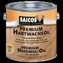 Saicos Tvrdý voskový olej - PREMIUM polomatný 2,5L
