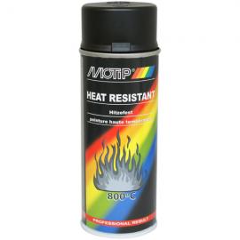 Motip žáruvzdorná barva černá 400ml