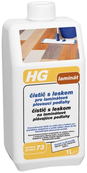 Čistič s leskem pro laminátové a plovoucí podlahy HG 1 l