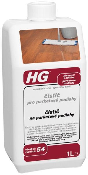 Čistič pro parketové podlahy HG 1 l