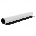 Pokovená (magnetická) fólie bílá, popisovatelná 100x62 cm