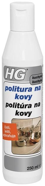Politura na kovy HG 250ml
