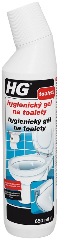 Hygienický gel na toalety HG 650ml