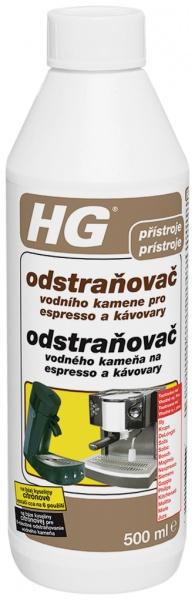 Odstraňovač vodního kamene pro espresso a kávovary HG 0,5l