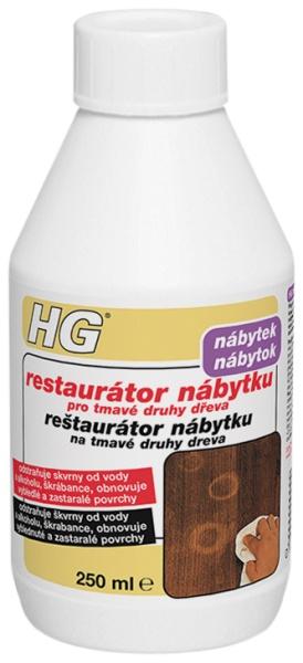 Restaurátor nábytku pro tmavé druhy dřeva HG 250ml