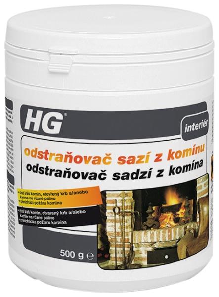 Odstraňovač sazí z komínu HG 500g