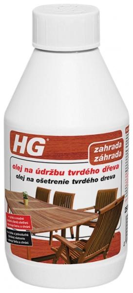 Olej na údržbu tvrdého dřeva HG 250ml