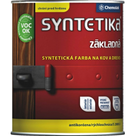 SYNTETIKA S2000 syntetická barva antikorozní základní