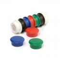 Kancelářské magnety sada 10ks, 5 barev