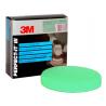 3M 50487 Pěnový leštící kotouč D150 zelený, upnutí: suchý zip
