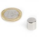 Neodymový magnet válec 10x10mm, síla 3,9kg