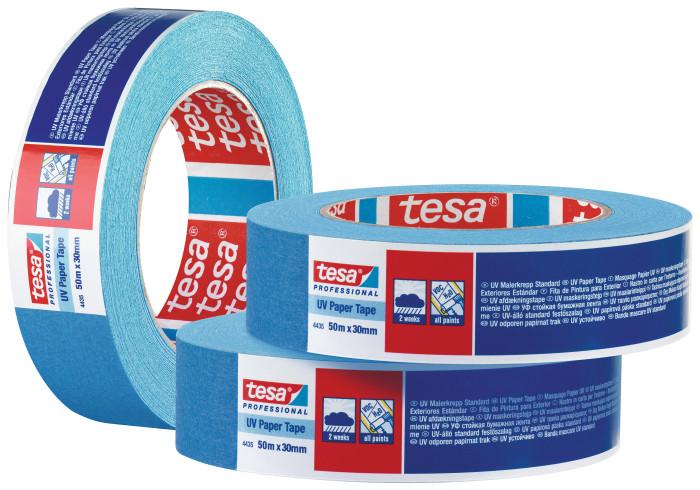TESA 4435 2 týdny UV odolná textilní maskovací páska modrá