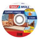 Tesamoll 55703 těsnění gumové profil P bílé 9mm x 100m