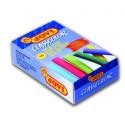 Křídy školní bezprašné barevné 10ks JOVI