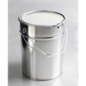 Plechový kbelík 10l s víkem a obručí
