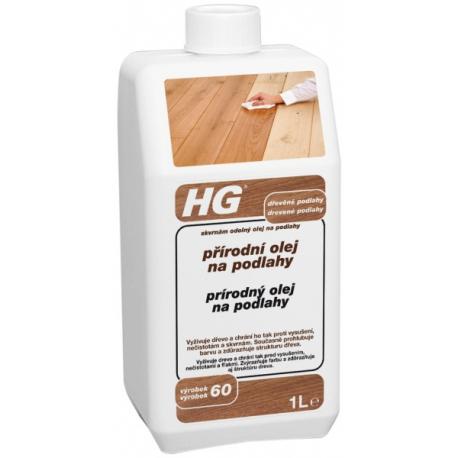 Přírodní olej na podlahy