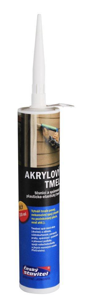 Akrylový tmel ČS bílý 310 ml