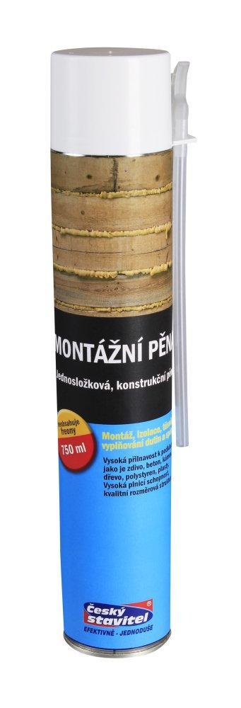 Montážní pěna trubičková Český Stavitel