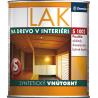 Lak na povrchovou úpravu dřeva v interiérech jako transparentní nátěr