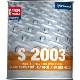 S2003 Syntetická barva základní na lehké kovy