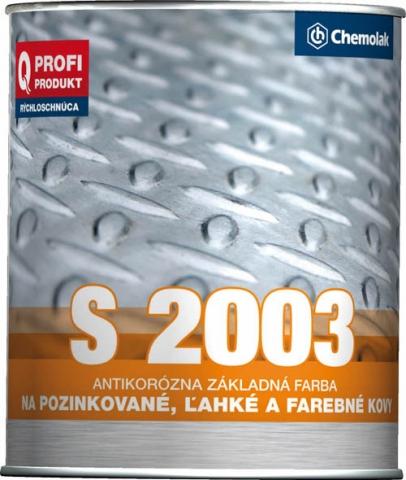 S2003 Synt. barva základní na lehké kovy