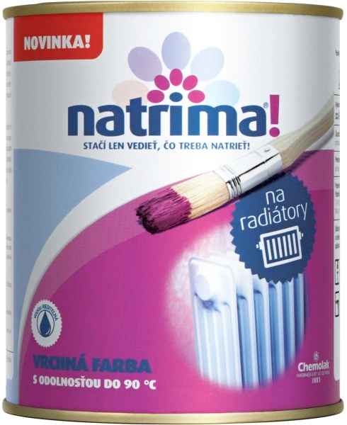 NATRIMA barva na radiátory vodouředitelná