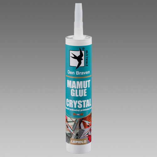 Mamut Glue Crystal transparentní 290 ml