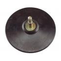 Nosič brusných výseků na suchý zip do vrtačky pr.125mm