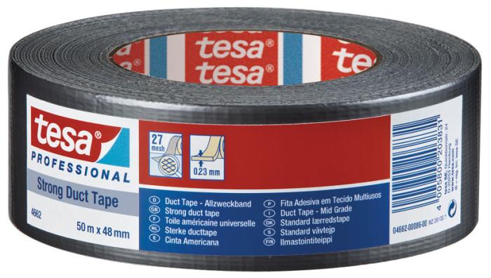 tesa® 4662 Pevná instalatérská páska - duct tape