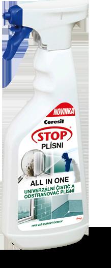 Dezinfekční sprej a odstraňovač plísní, Ceresit, 500 ml