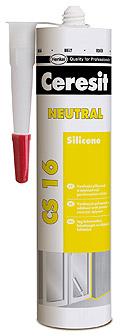 Neutrální silikon CS 16 300 ml, Ceresit