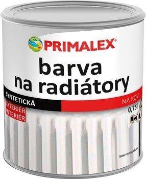 Primalex barva na radiátor lesklá 1000 bílá 0,75l