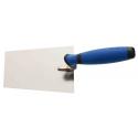 Zednícká lžíce PROFI nerezová 16 cm plastová rukojeť