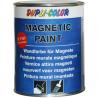 Magnetická barva na stěny. Elegantní způsob k připevnění fotek, plakátů či nákupních seznamů na stěnu.