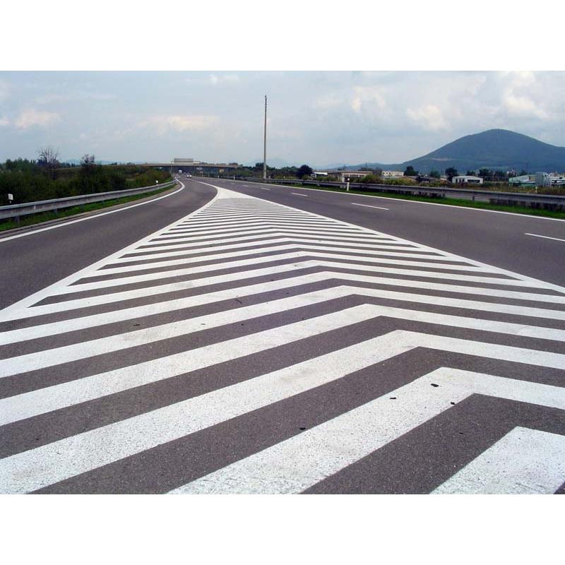 Barva na vodorovné dopravní značení