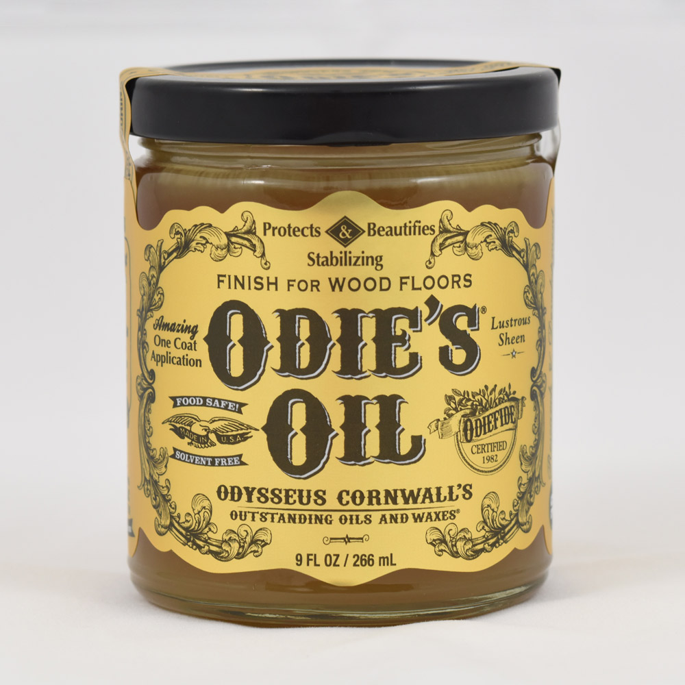 Odie's Oil Floor Finish