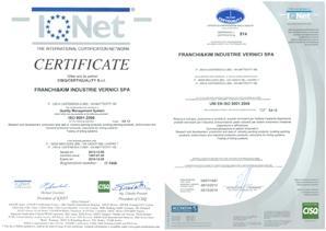 Franchi & Kim ISO9001