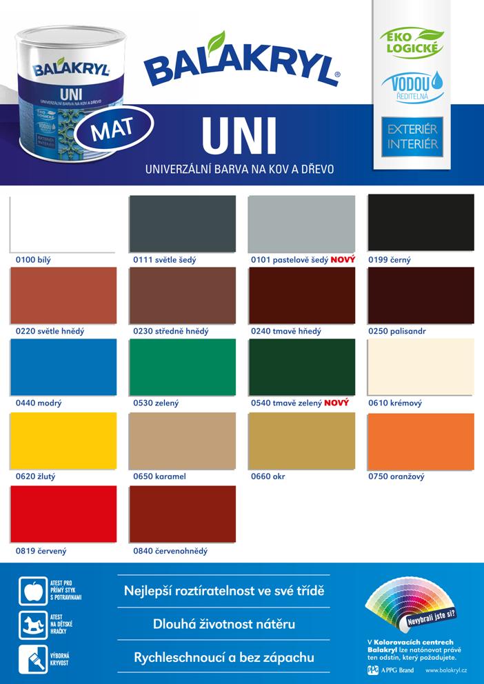 Balakryl Uni Mat